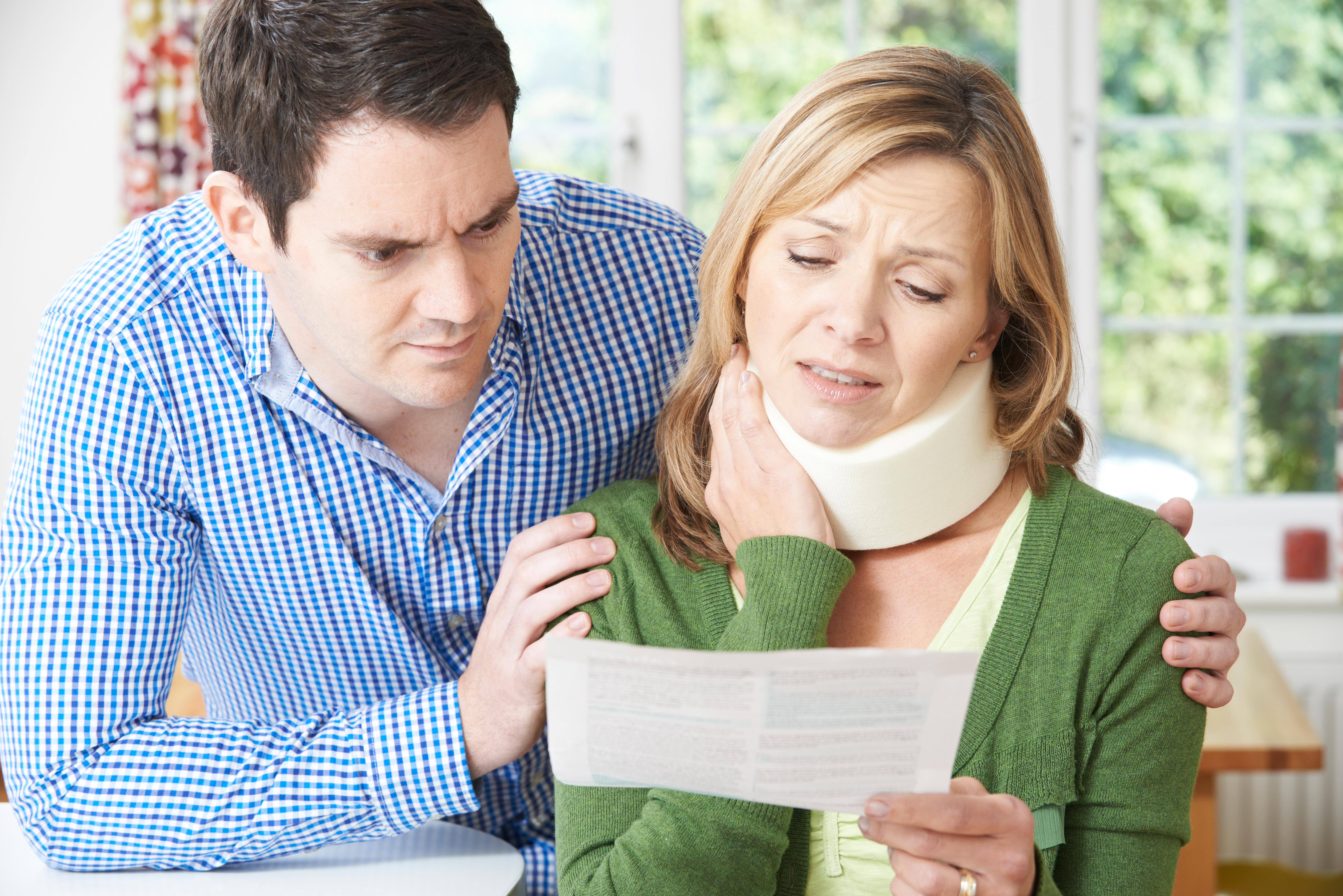 교통사고 후 지속되는 목 통증의 치료